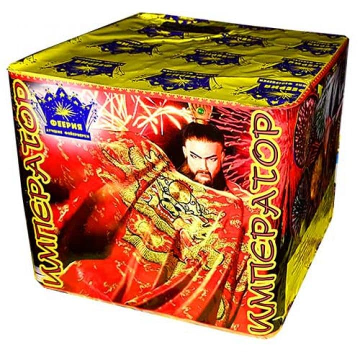 Купить фейерверк Салютная установка 49-зар. Император Доставка фейерверков по Украине на любой праздник.