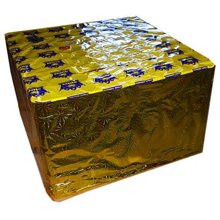 Купить Фейерверк 100-зар. Gold label Доставка фейерверков по Украине на любой праздник.