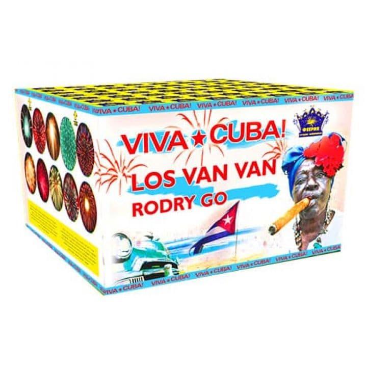Купить фейерверк Салютная установка 100-зар. Viva Cuba Доставка фейерверков по Украине на любой праздник.