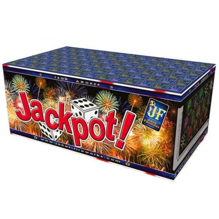 Купить фейерверк Салютная установка 150-зар. Jack Pot  Доставка фейерверков по Украине на любой праздник.