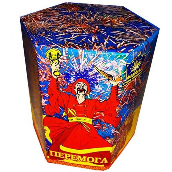 Купить фейерверк Салютная установка 19-зар. Перемога Доставка фейерверков по Украине на любой праздник.